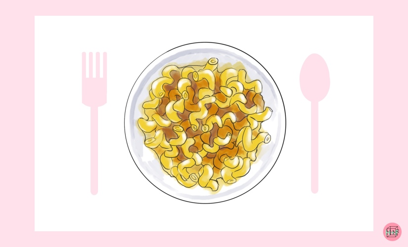 dinner is served: mac ncheese