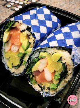 sushi burrito photo